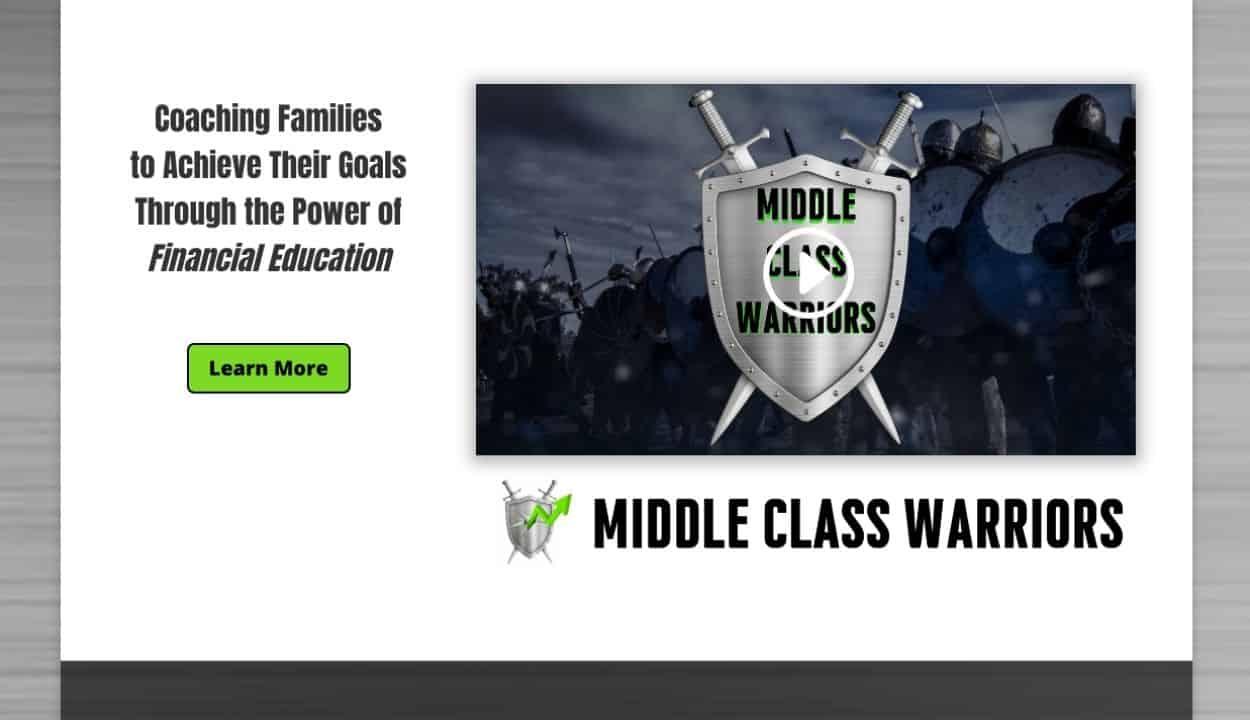 Middle Class Warriors Website